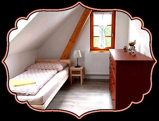 Ubytování v jižních Čechách pokoj Rodinný